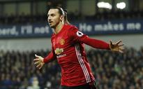 Manchester United coach Jose Mourinho hails Zlatan Ibrahimovic after 2-0 win