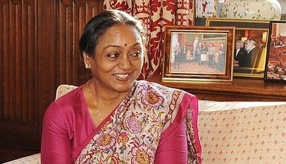 Meira Kumar's emotional appeal to electoral college for support