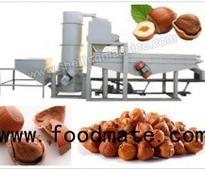 300-500 kg/h Hazelnut Cracking and Shelling Machine