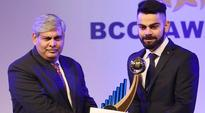 Virat Kohli is cricketer of the year, lifetime honour for Syed Kirmani