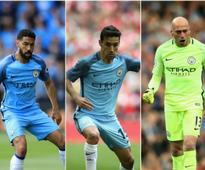 Premier League: Manchester City confirm Gael Clichy, Jesus Navas and Willy Caballero headed towards exit