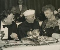 My uncle and Eleanor Roosevelt
