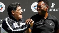 Euro 2016: Pele and Maradona coach charity match in Paris