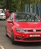 Volkswagen Polo GTI 5-door spotted testing in India