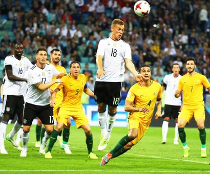 Confederations Cup: Young Germany made to sweat in 3-2 win over Australia