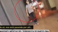 New video emerges of Las Ramblas terrorist calmly leaving scene of attack in Barcelona