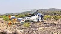 Pilot hurt as Indian Coast Guard's Chetak crash-lands at Murud
