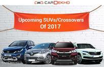 Upcoming SUVs/Crossovers Of 2017