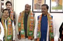 Uttar Pradesh assembly elections: Another Samajwadi Party leader, Raja Mahendra Aridaman Singh, joins BJP