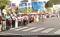 700-km long human chain in Kerala protests note ban