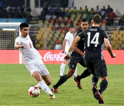 U-17 World Cup: Iran whip Germany; Brazil in knock-outs