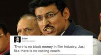 Twitterati lashes out at Rajyavardhan Singh Rathore for no black money in film industry comment
