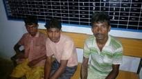 Security forces apprehend three Naxals in Chhattisgarh