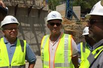 US EXIM Bank Chairman visits water reservoir project in Badulla