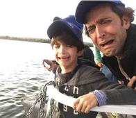 After SRK, Hrithik Becomes the Doting Father; Scribbles and Doodles Messy Squiggles for His Kids