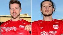 Jens Hegeler and Milan Djuric: Bristol City sign Hertha Berlin midfielder and Cesena striker