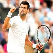 Djokovic in quarters of Wimbledon