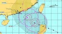 Typhoon Haima now heads towards China's Guangdong
