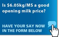 Solids milk price rise