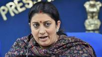 Smriti Irani rejects Darul Uloom's fatwa, says all have right to say 'Bharat Mata Ki Jai'