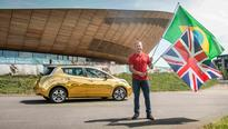 Gold Leafs for Britain's Nissan-sponsored athletes who win gold at Rio 2016 Olympics