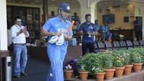 Watch: Crowd goes MENTAL as Dhoni comes out to bat one last time as captain of Men in Blue