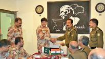 BSF, Pak rangers hold quarterly meeting