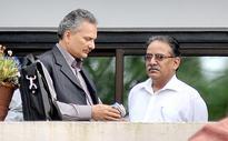 Ex-comrade Bhattarai congratulates Dahal for PM berth