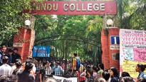 Students complain against Hindu College