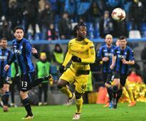 Europa League: UEFA charges Serie A club Atalanta over fans' alleged 'monkey chants' against Michy Batshuayi