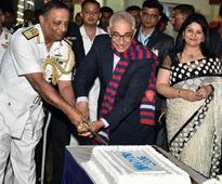 Governor  O P Kohli attends Navy Day function