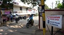 Road-closure board put up in Karkhana a big mystery