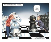 This is how chess is played in Springfield