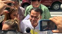 Son, please surrender, Leyte town mayor pleads on TV