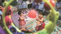 Conjoined twins Riddhi & Siddhi begin new chapter, head to school