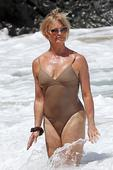 Goldie Hawn Makes A Sexy Case For The One-Piece Bathing Suit