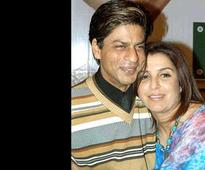 Rare and Unseen pictures of Shahrukh Khan-Farah Khan