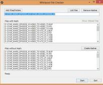 Whirlpool File Checker (64-bit) 0.1