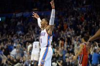 Westbrook's 4th straight triple-double lifts Thunder