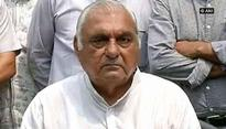 Hooda blames Haryana's 'lawlessness' for increased crime