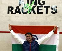 Cdr Ashutosh Pednekar of Indian Navy creates history in Racketlon