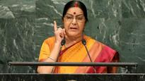 Congress 'deeply disappointed' by Sushma Swaraj's UNGA address