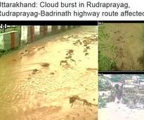 Cloudbursts in Uttarakhand: Badrinath highway blocked, catastrophic 2013 floods revisited