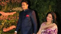SEE PICS   Class act: Anil Kumble turns up for Virat Kohli's reception despite bitter fallout