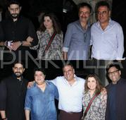 Abhishek Bachchan, Farah Khan, Sajid Khan, Rajkumar Hirani attend Boman Irani's birthday bash!