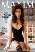 Shruti Haasan sizzling hot on Maxim cover
