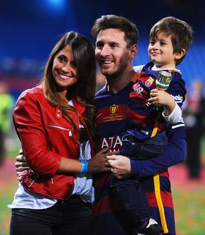 Messi's son Thiago has little interest in football
