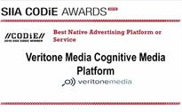 Veritone Media Wins SIIA Business Technology CODiE Award for Best Native Advertising Platform or Service