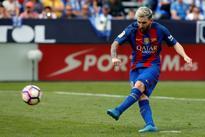 Lionel Messi and Samuel Umtiti out for Barcelona trip to Borussia Monchengladbach