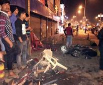 3 injured as SUV crashes into footpath
